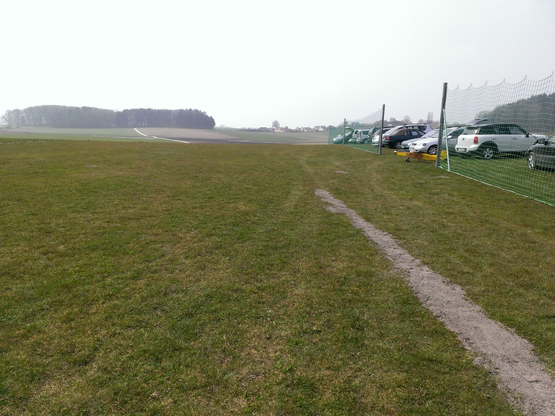 Préparation de la piste – saison 2013