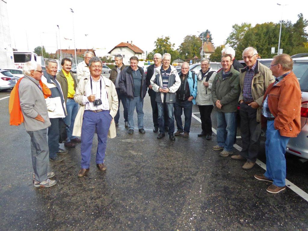 15 octobre 2014: visite de RUAG pour le jubilée du GMRF