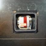 Flächenservo DS6125 Mini von MKS, Sevorahmen von RC-Solutions, Gewindesicherung von Loctite